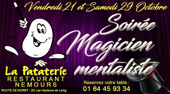 Nemours, Francja: Et Oui nous faisons aussi des soirée animés; Devenez client fidèle et recevez les invit' !