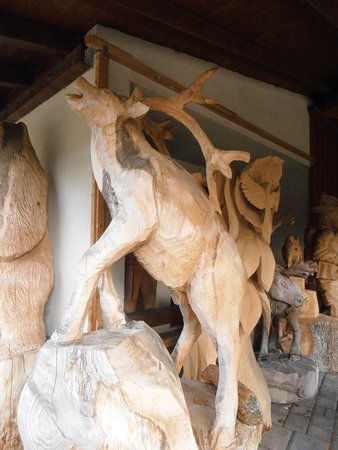 Wolfach, Duitsland: Wooden Carvings
