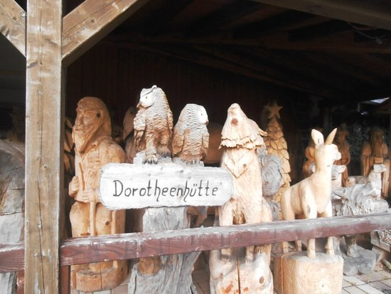 Wolfach, Duitsland: More wooden Carvings