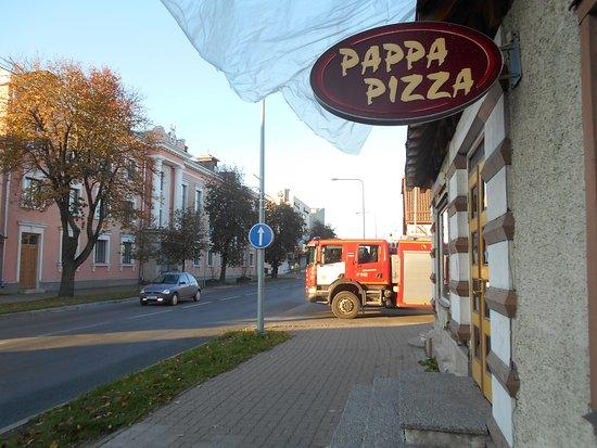 Pizzerian på Tallinnagatan i Viljandi.