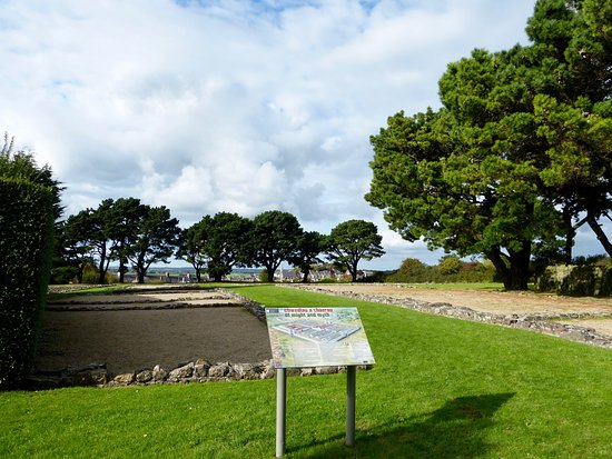 Segontium Roman Fort: Information Board