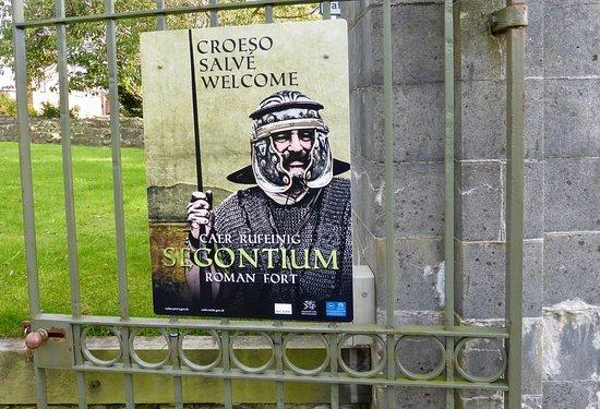Segontium Roman Fort: Gate