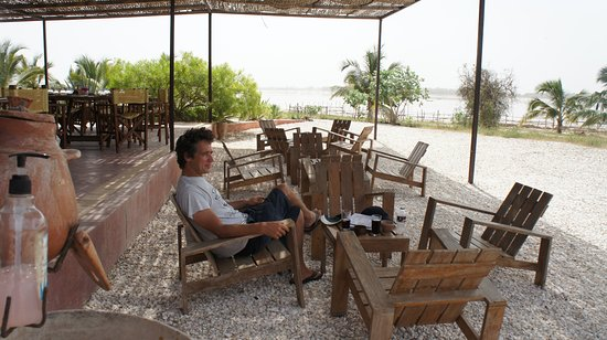 Terrasse ombragée - Picture of Bonaba Cafe, Niaga - TripAdvisor