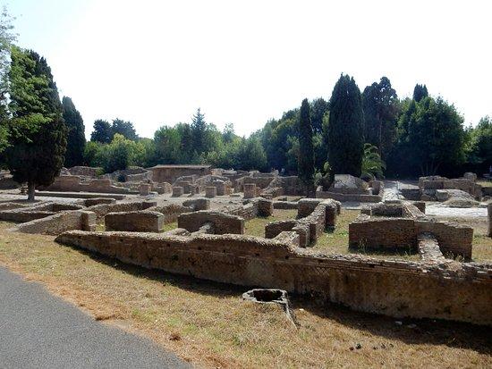 Ostia Antica, Italia: vista