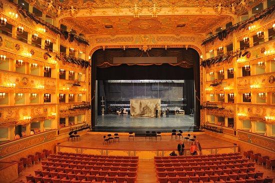 Teatro Goldoni : 劇院內, 很美