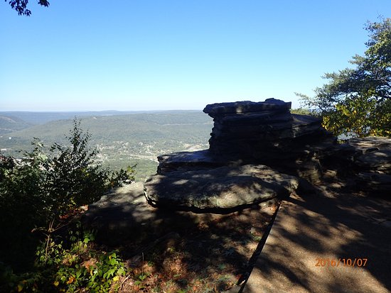 Voew from Point Park in Lookout Mountain