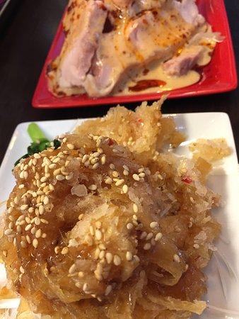 Akishima, Japón: 久々のめだかタンタン。美味い。店主も従業員もステキだ。