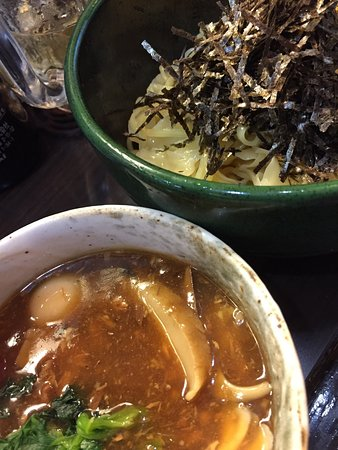 Akishima, Japan: 久々のめだかタンタン。美味い。店主も従業員もステキだ。