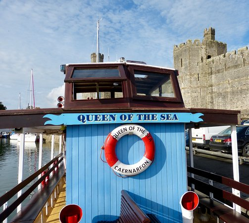 Menai Strait Pleasure Cruises: The Boat