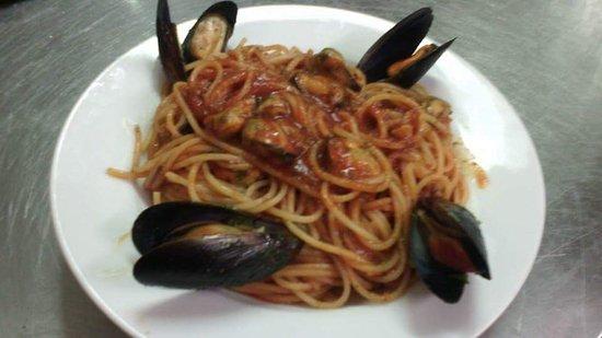 Gattico, Italia: Spaghetti alle cozze