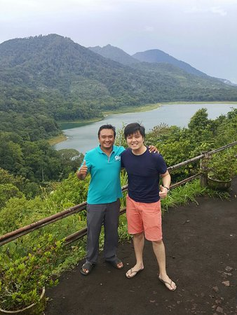 Legian, Indonesia: Twin lake bedugul