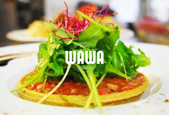 restaurant wawa music food dans strasbourg avec cuisine am ricaine. Black Bedroom Furniture Sets. Home Design Ideas