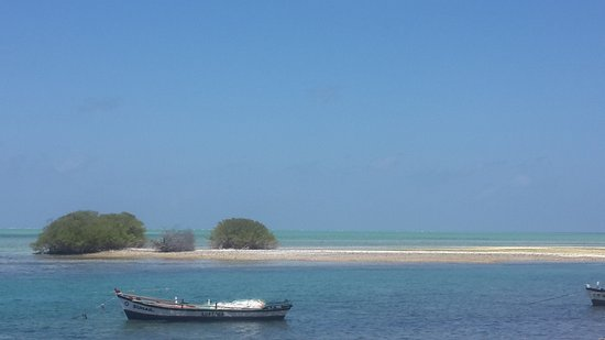 Kalpeni Islands: View from Kalpeni