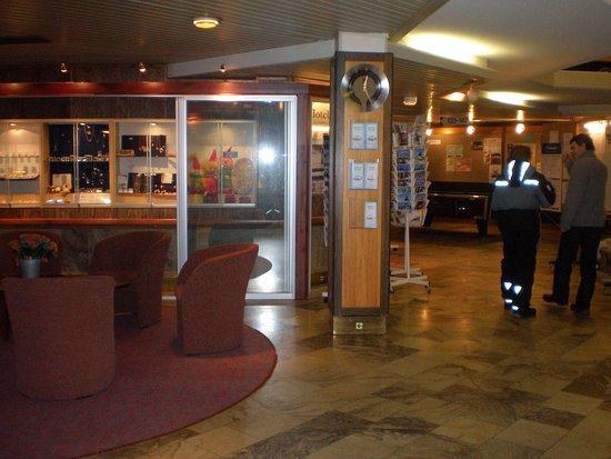 Ivalo, Finlande : hall