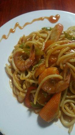 Hefei, Cina: Spaghetti Marinara