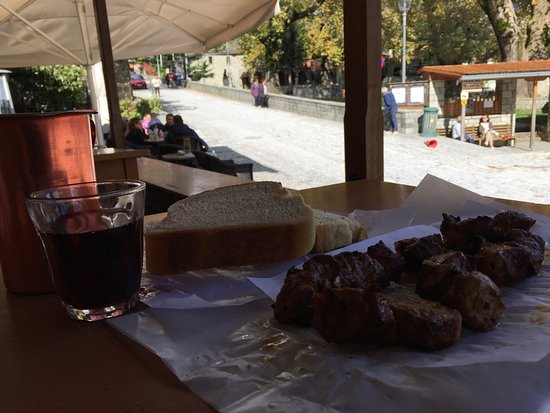 immer ein Pflichtstopp auf dem Weg Igoumenitsa nach Saloniki