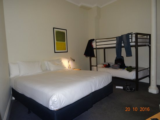Bed And Bunk Bed Picture Of 1831 Boutique Hotel Sydney Tripadvisor