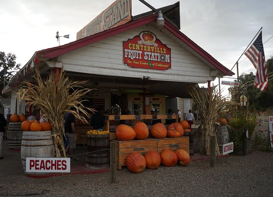 Sanger, CA: Centerville Fruit Station, le magasin