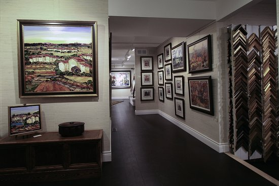 Ancaster, Καναδάς: Art Displayed Changed Regularly