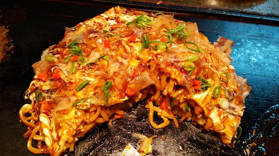 Momiji: Okonomiyaki (I believe this is the right name of it :))