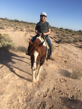 Chandler, AZ: Me riding Sundance Kid.