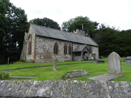 Denbigh, UK: The church