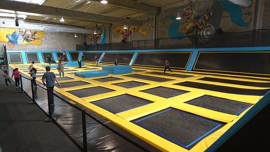 trampoline park toulouse all you need to know before you go with photos tripadvisor. Black Bedroom Furniture Sets. Home Design Ideas
