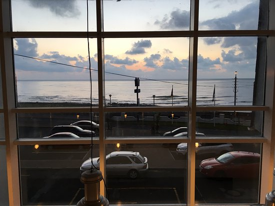 Portmarnock, أيرلندا: View from the first floor hallway