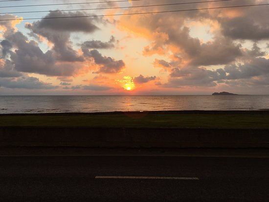 Portmarnock, أيرلندا: View from the front of the hotel