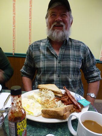 Seymour, TN: Steve's meal