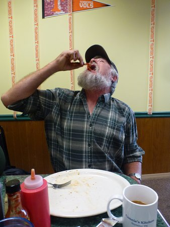 Seymour, TN: Steve ate it all