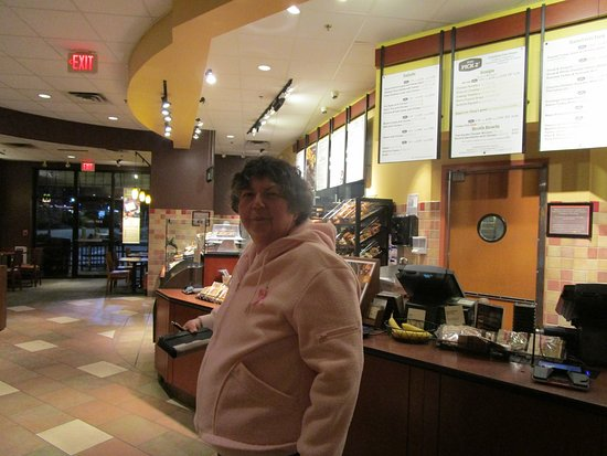 Seekonk, MA: That is me at Panera Bread.