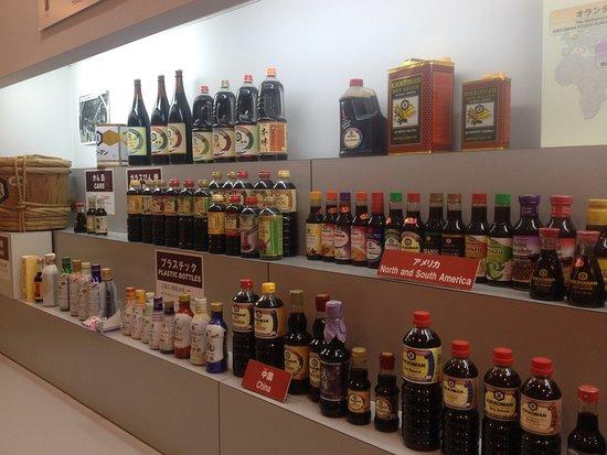 Noda, Japan: Différents produits Kikkoman