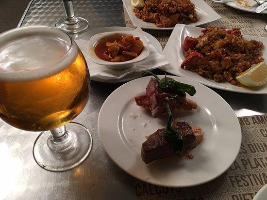 Ciudad Condal: Lobster rice