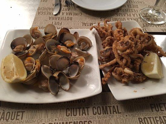 Ciudad Condal: Cockles & Calamari
