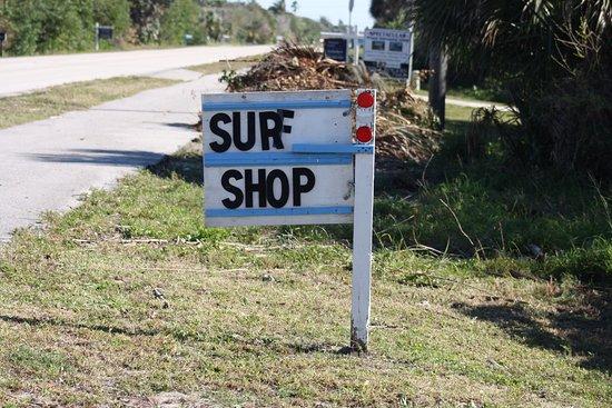 Melbourne Beach, فلوريدا: Parking Lot Sign