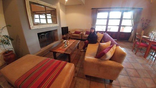 Lujan de Cuyo, Argentyna: Esperando que comience el recorrido.