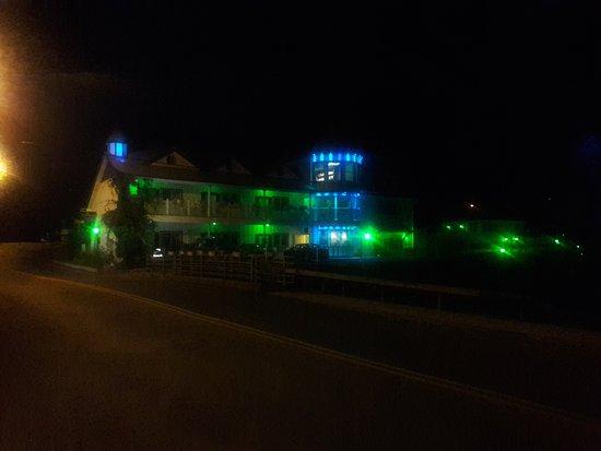 The Roxbury, Contemporary Catskill Lodging: The Night Time view of the Roxbury