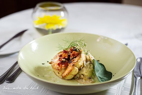 Centurion, Sydafrika: Chicken roulade with wild mushroom risotto
