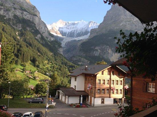 Hotel Gletschergarten: Veíamos esto desde la habitación