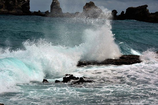 Saint Francois, Gwadelupa: Brekende golven