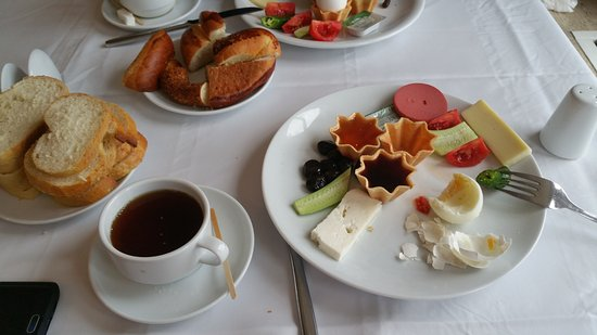 polat thermal hotel this is 5 star hotel breakfast
