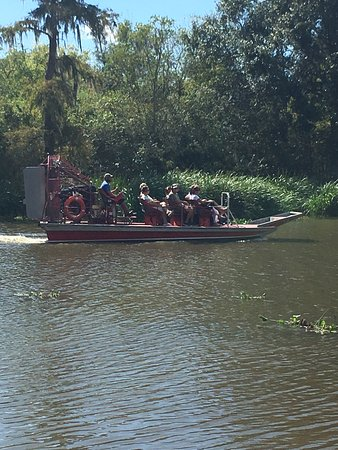 Marrero, LA: The airboat
