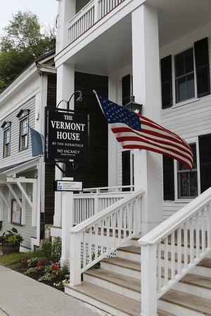 Wilmington, VT: Front porch