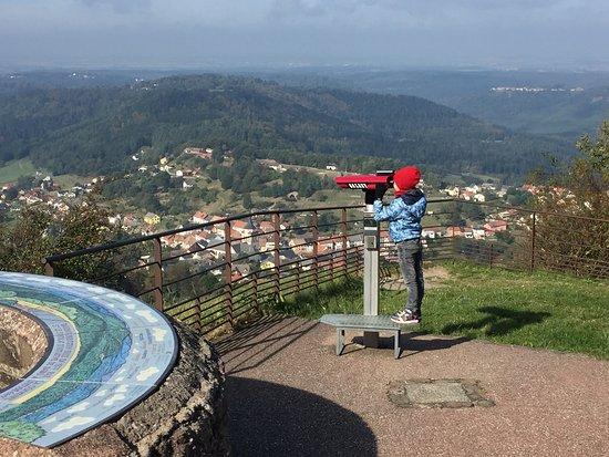 Dabo, Francia: точка наблюдения