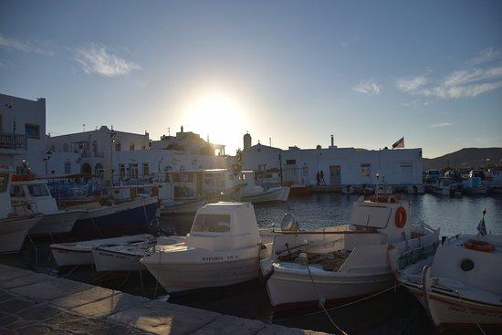 Naoussa, Grekland: Gemütlicher alter Hafen