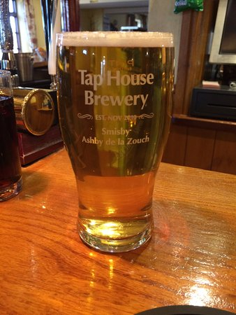 Ashby de la Zouch, UK: Tap House 'Gold'. A great hoppy beer !