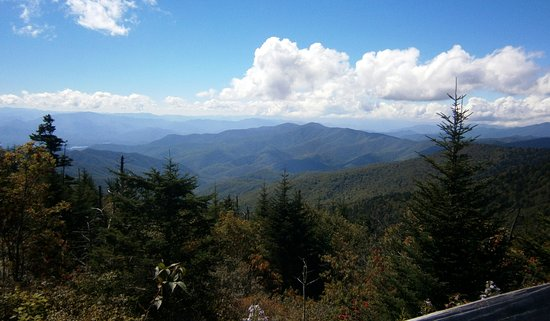 Cosby, TN: View from Clingman's Dome area
