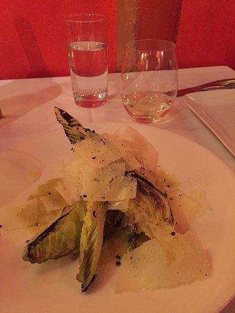 El Meze Restaurant : Delicious roasted romaine.