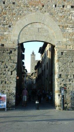 Entrance to St.Gimignano